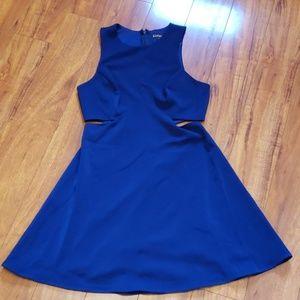 Nwot Express navy blue dress sz 6
